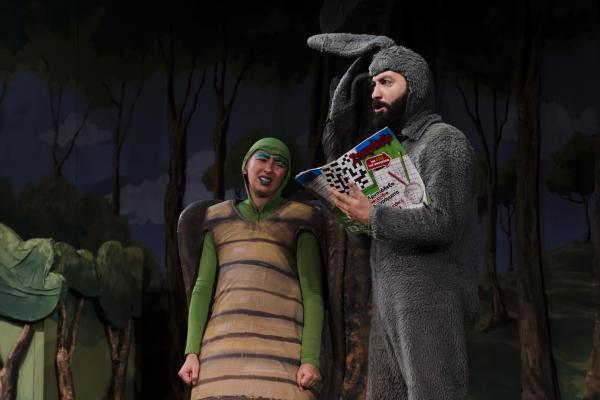 Μικρό Θέατρο Λάρισας - Ο Λαγός και η Χελώνα στη Βέροια