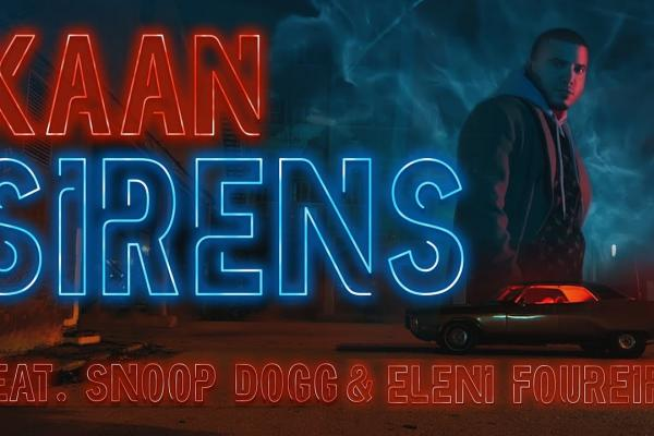 Embedded thumbnail for KAAN feat. Snoop Dogg, Eleni Foureira - Sirens